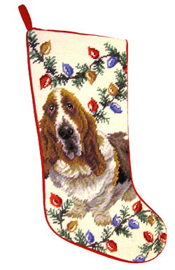 Basset Hound Christmas Stockings for Dog Lovers!