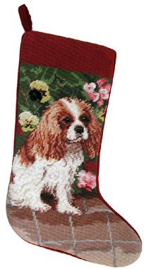 Cavalier King Charles Spaniel Christmas Gifts Notecard | Dog Breeds ...