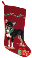 Chihuahua Christmas Stocking (2)