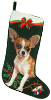 Chihuahua Christmas Stocking (1)