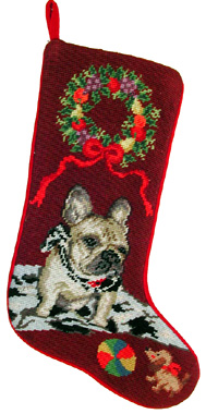 French Bulldog Christmas Stockings for Dog Lovers!
