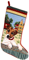Jack Russell Christmas Stocking (2)