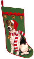 Jack Russell Terrier Christmas Stocking (1)
