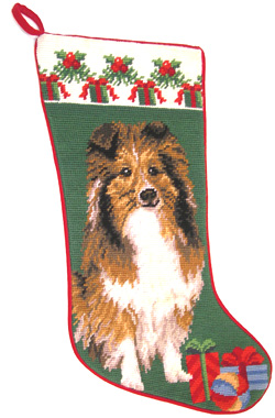 Shetland Sheepdog Christmas Stockings for Dog Lovers!