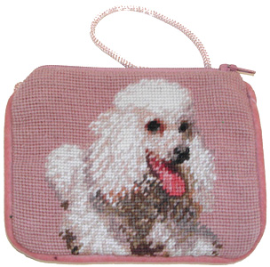 This adorable White Poodle Coin Purse is also great for carrying dog treats for your poodle!