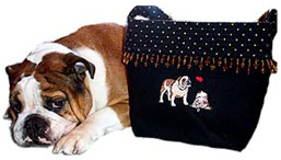 """Kissed By Dogs"" Original Doggie Handbags"