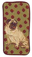 Fawn Pug Eyeglass Case or Cell Phone Case (2)