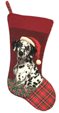 Dalmatian Christmas Stockings for Dog Lovers!