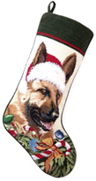 Needlepoint Dog Christmas Stockings