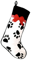 Paw Prints Christmas Stocking for Dogs (2)
