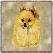 Pomeranian Throw - Pomeranian Afghan